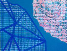 Les Mappa Mundi acrylique sur toile 100X100