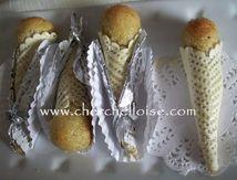 Cornets aux amandes et miel« Gâteau Traditionnel Algérien »