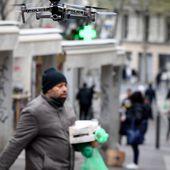 Avec le confinement, les drones s'immiscent dans l'espace public