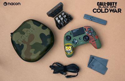 Nacon annonce l'arrivée d'une manette aux couleurs de Call Of Duty Black OPS Cold War