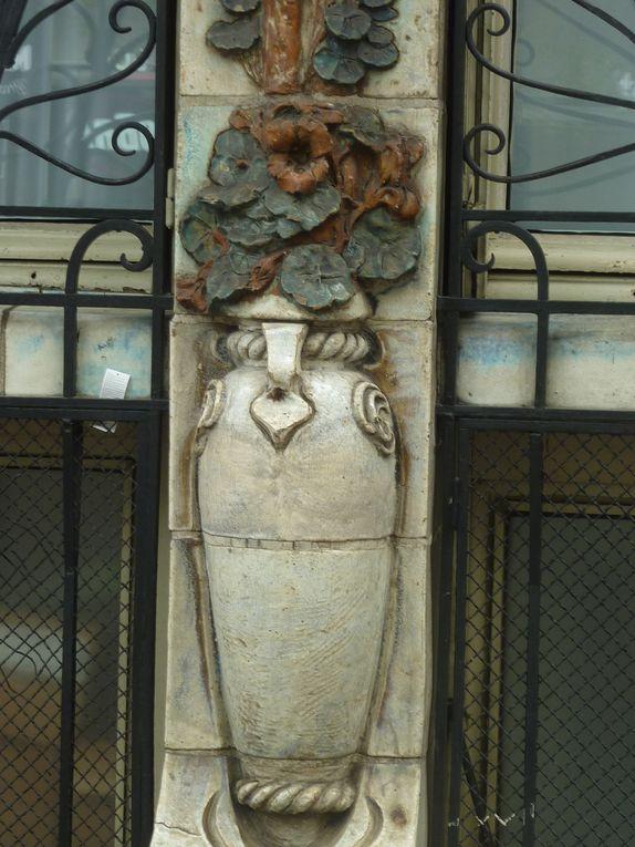 L'hôtel Céramic, une façade remarquable