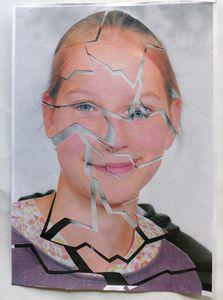 3e - Autoportrait fragmenté