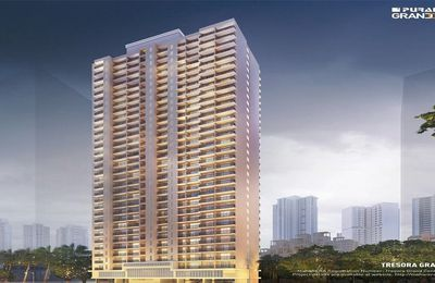 Luxurious Residential Puranik Grand Central Project 1/2 BHK Apartment in Mumbai