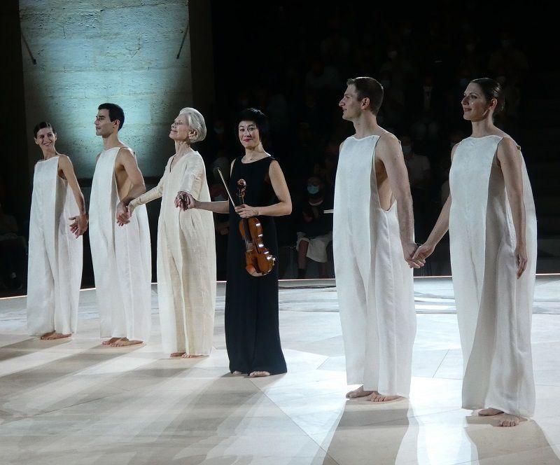 Evangelia Randou, Alexis Fousekis, Luncida Childs, Jennifer Koh, Ioannis Michos, Kalliopi Simou
