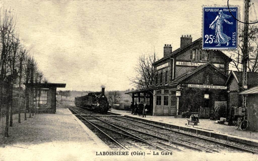 Gare de Laboissière / Le déluge (60) -2
