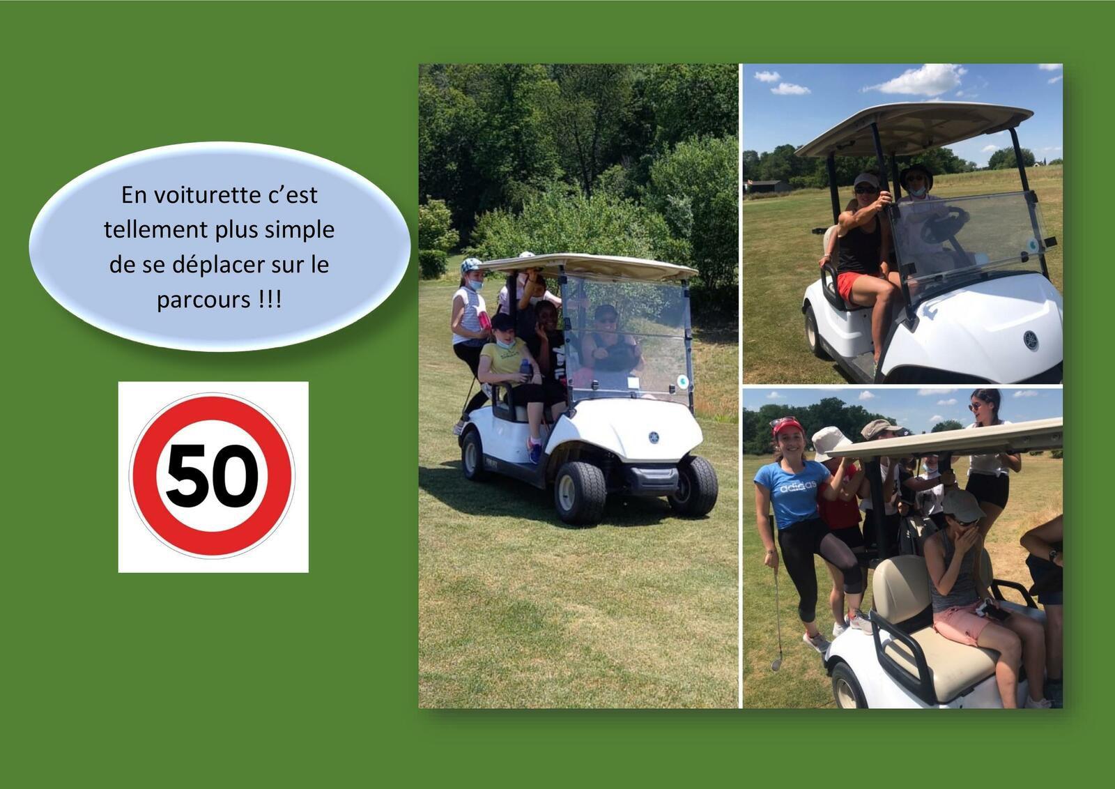 Sortie de fin d'année - Golf à Fontenay sur Eure
