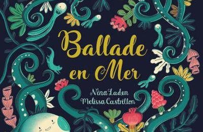 Ballade en mer.Nina LADEN et Melissa CASTRILLON – 2019 (Dès 5 ans)