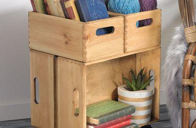 4 caisses pour un meuble