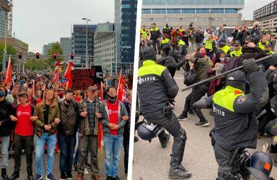 Les communistes néerlandais condamnent la violence policière contre les manifestants pour le logement à Rotterdam