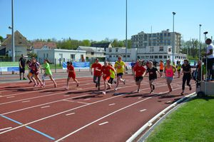 CHAMPIONNAT DEPARTEMENTAL D'ATHLETISME Mercredi 4 mai
