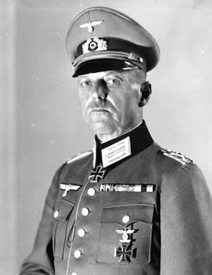 Erwin Rommel - Gerd von Rundstedt - Heinz Guderian - Edgar Feuchtinger - Günther von Kluge - Bernard Law Montgomery -