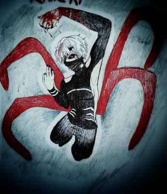 [Tokyo Ghoul] Kaneki dans toute sa splendeur ♥