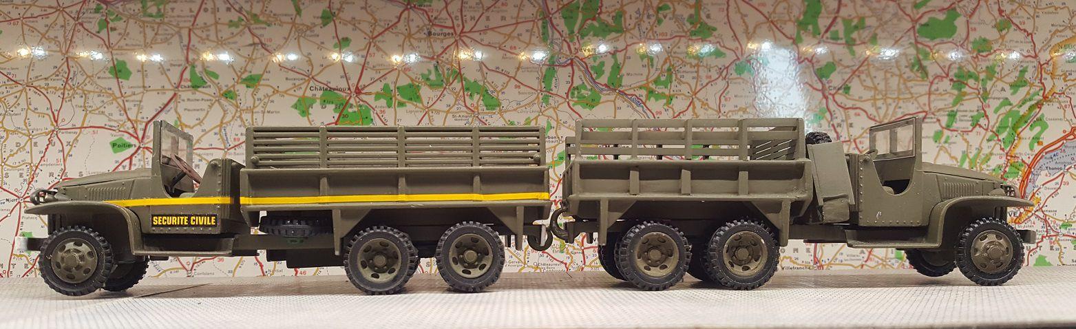 Berliet GBC 8 KT, AMX-30 et AMX-10 RC (Solido/Master Master/Parade - 1/50 - Par Germain M.)