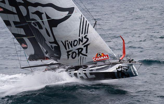 Transat Jacques Vabre – Charal en tête de la flotte Imoca