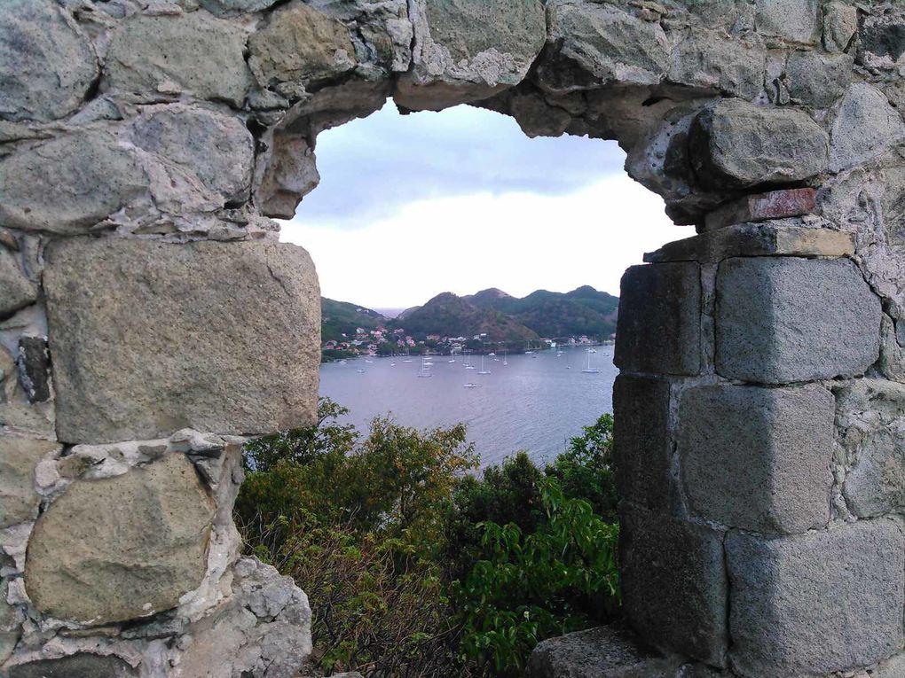 Saintes :île Cabrit
