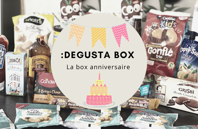 What's in the :DEGUSTA Box : Mars 2021 - Box anniversaire