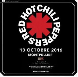 Concert : Red Hot Chili Peppers à Pérols