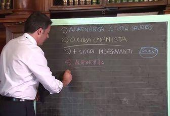 """Renzi ha una cultura """" umanista""""?"""