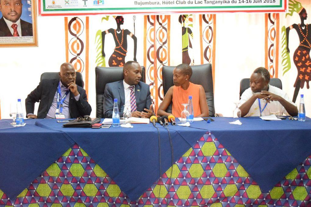 Cérémonies de clôture du Salon Industriel du Burundi