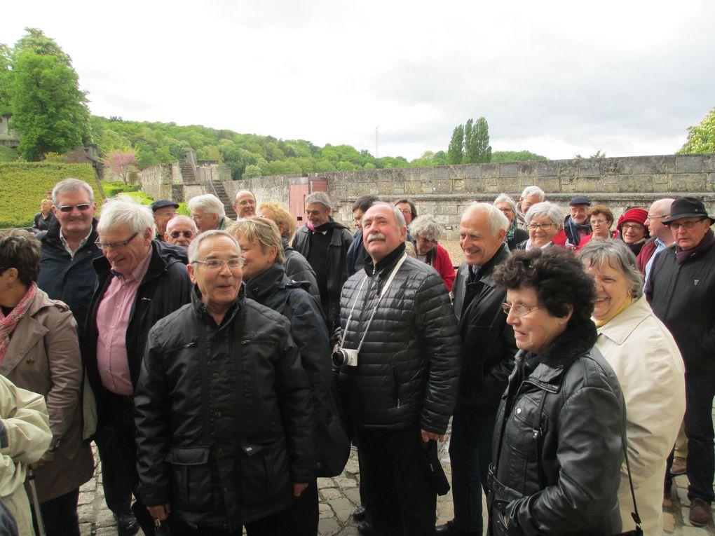 Notre voyage en Val de Loire week-end des 26 et 27 avril 2014