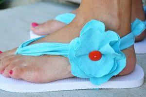 DIY : Customiser vos tongs (4)