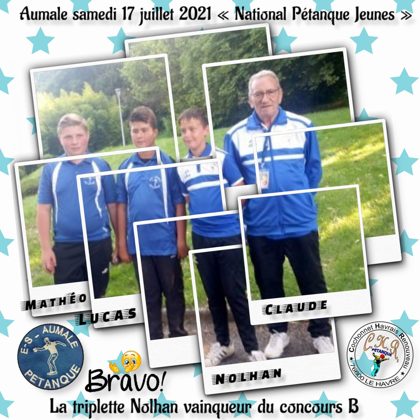 "Aumale ""National jeunes"" samedi 17 juillet 2021"