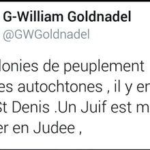 Le MRAP et Gilles-William Goldnadel