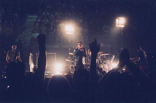 U2 -Minneapolis  USA 01/05/2001 Target Center