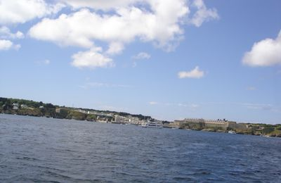 Gu-Bragh autour des Iles août 2010 Belle Isle