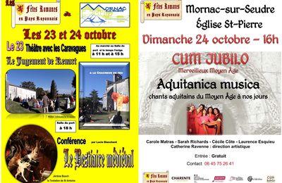 23-24 octobre à Mornac