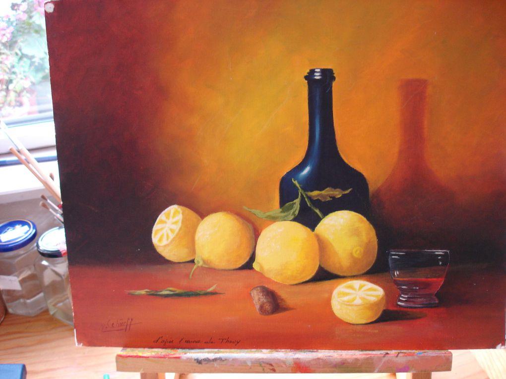 Album - Peinture-Huile 2010-2011