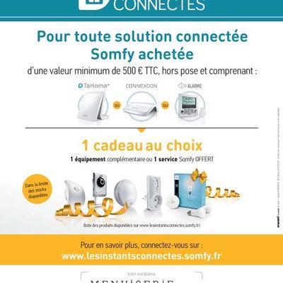 Connecté votre maison avec Somfy