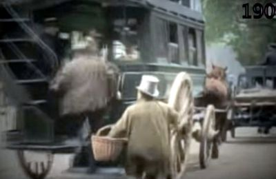 VIDEOS: Paris 1900, du cheval à l'automobile