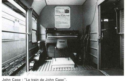 A la Recherche du silence perdu Bologne @ John Cage. 1978