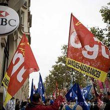 Le 24 novembre : des employés de banque aussi en grève !