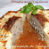 Pâtissons farcis à la viande - Cuisine gourmande de Carmencita