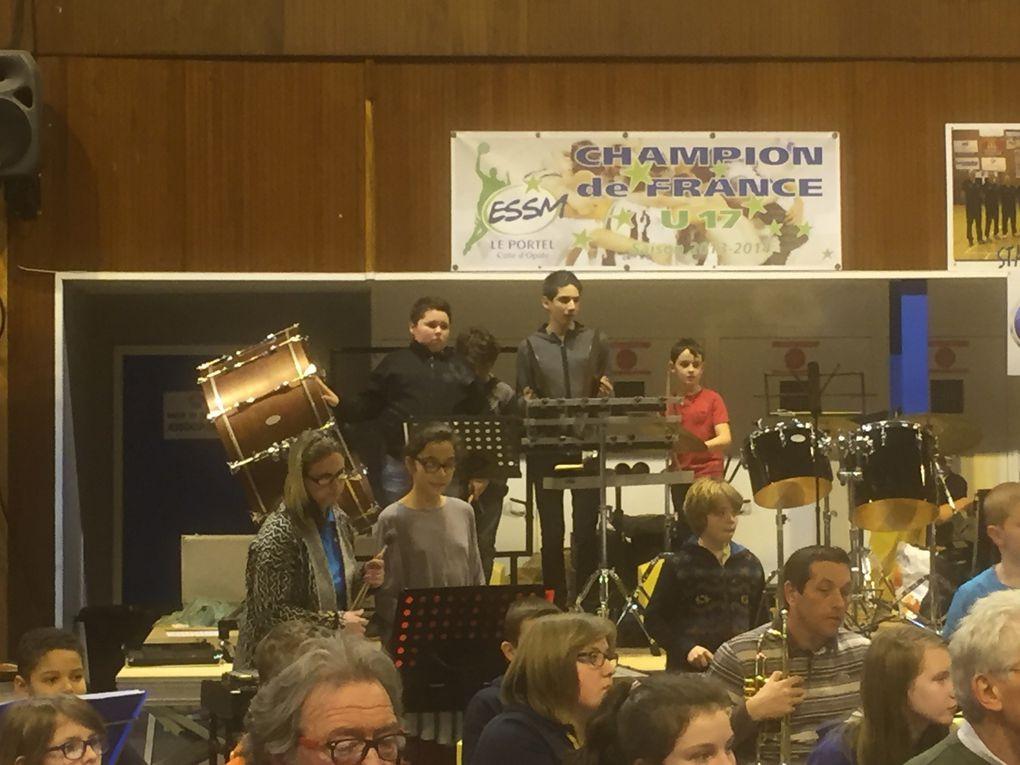 Concert des Orchestres Juniors de la Délégation de la Côte d'Opale