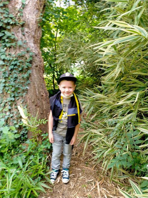 ACCUEIL DE LOISIRS: Pleine nature, journée à la Bambouseraie pour les petits avec sieste à l'ombre des bambous, Full contact pour les grands, Vive les vacances, on y prend goût!