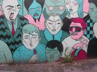 Cette colossale murale de Mono Sourcil a été élaborée en 2017.