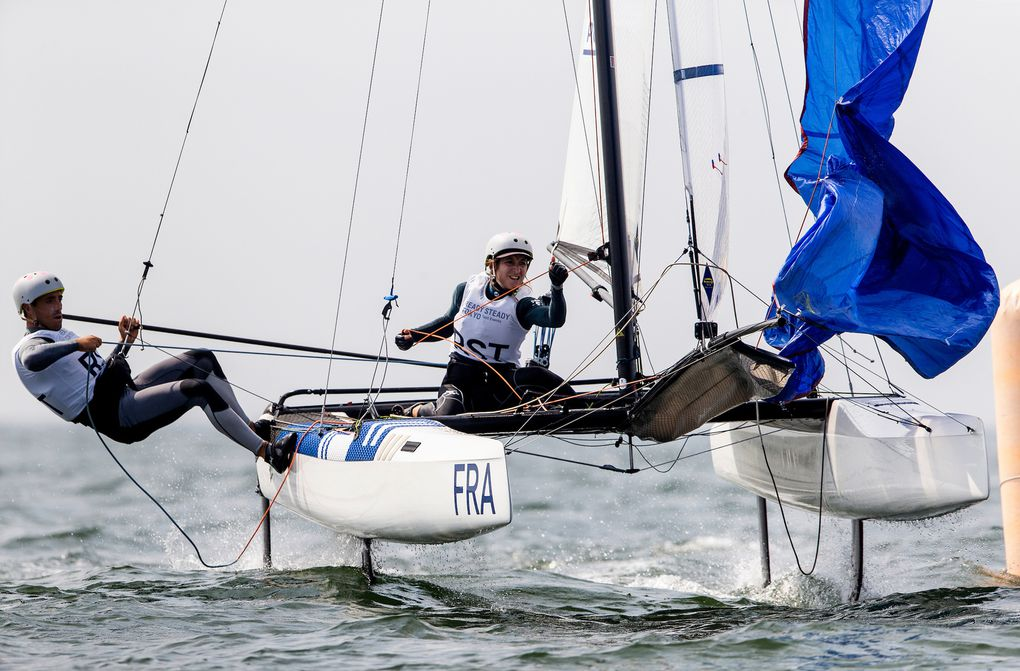 Voile olympique – Reprise des compétitions internationales en Nacra 17, 49er et 49er FX