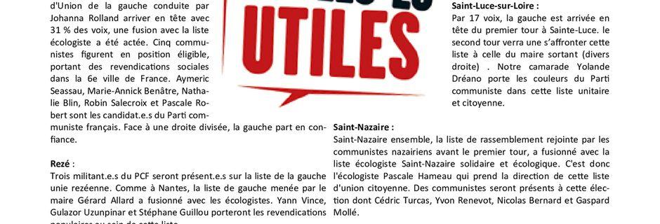 Les Nouvelles de Loire-Atlantique du 5 juin 2020