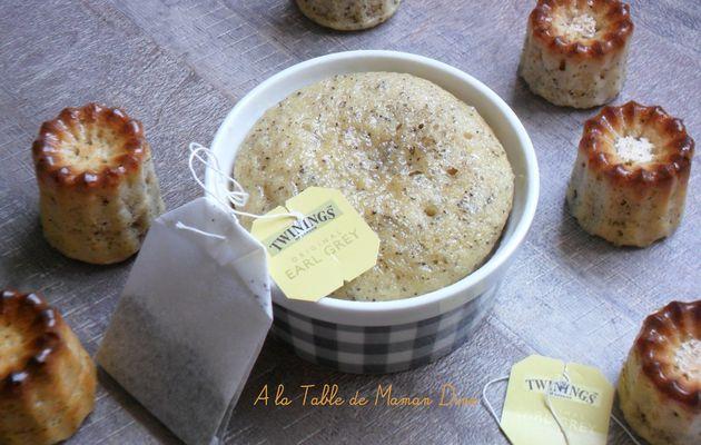 Muffins cardamone et thé earl grey