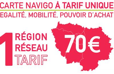 1 région, 1 réseau, 1 tarif : la tarification unique pour tous les Franciliens