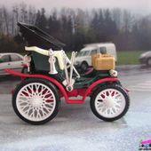 PEUGEOT PARIS-MARSEILLE 1896 SAFIR 1/43 - TACOT FRANCAIS - car-collector.net