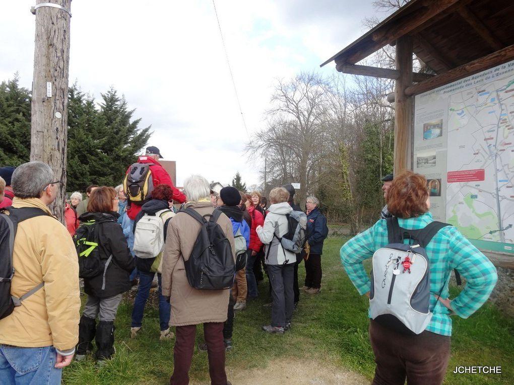 Randonnée du mardi 8 mars sur Viry/Grigny