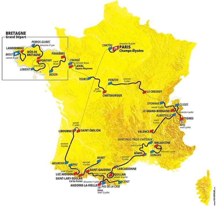 Ca y est, la ville de Vierzon a enfin son doudou : un départ du Tour de France !