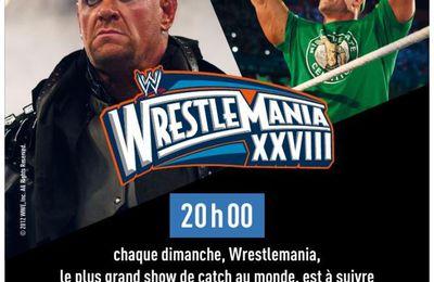 [Catch] Wrestlemania 28 ce dimanche à 20h00 sur la chaîne l'Equipe !