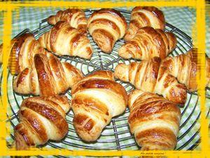 Mes 1ers croissants