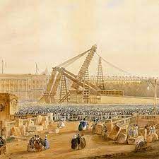 obélisque de Louxor, érigée place de la Concorde