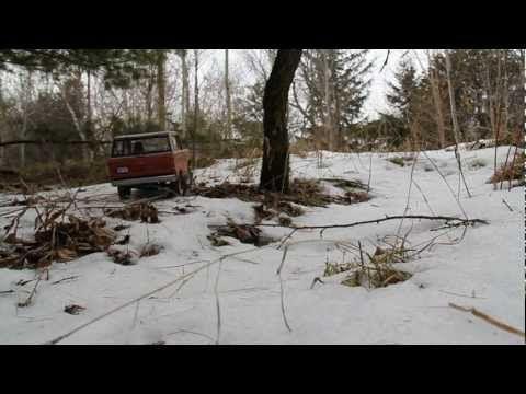 Ford Bronco dans la neige - RC